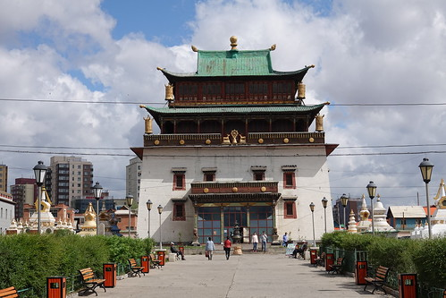Temple of Avalokiteshvara at Gandantegchinlen Monastery