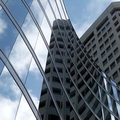 center 21 (msdonnalee) Tags: architecture reflection architecturaldetail urbanarchitecture architecturalabstract cloud architektur arquitectura reflisse reflexion refleccione reflexão reflejo reflet glass highrise building