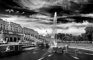 Samson Fountain / Фонтан Самсон