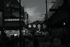 twilight@Okachimachi, Tokyo (Amselchen) Tags: street streetphotography people city cityscope sky clouds mono monochrome blackandwhite bnw fujifilm fujinon xt2 fujifilmxt2 xf35mmf14r