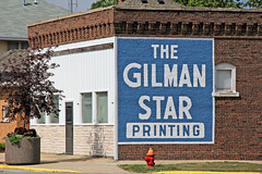 Gilman Star (craigsanders429) Tags: gilmanillinois gilmanstar newspaper smalltownamerica illinois oldbuildings
