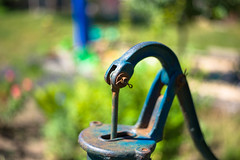 pump (Rene_1985) Tags: leica m messucher m9p rangefinder summicron 50mm f20 pump bokeh garden garten color
