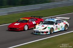 1996 Ferrari F355 Challenge, 2000 Porsche 996 GT3-R (belgian.motorsport) Tags: 1996 ferrari f355 challenge 2000 porsche 996 gt3r spa classic 2018 francorchamps peter auto oldtimer historic gel global endurance legends