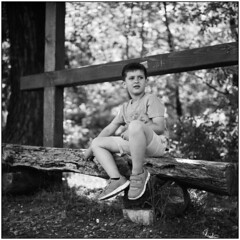 Rest Under the Shade of the Trees (Koprek) Tags: rolleiflex28f fomapan 100 portrait may 2018 drava