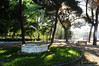 Fuente abandonada (Batosanut) Tags: toledo parque fuente sol rayosdesol amanecer árboles españa