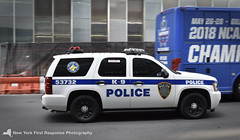 Port Authority Police Department Tahoe (nyfrp) Tags: nypd nyc new york police department nys ny state fpiu ford interceptor utility penn station transit trains bus car policecar polcedepartment tahoe chevy bmw downtown manhattan midtown ssv k9 dogs dog hudson yards