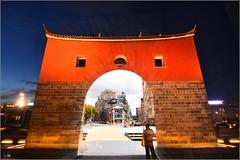 北門時空隧道 (Taiwan Wei) Tags: taiwan taipei tokina t124 nikon d7200 f4 台灣 台北 北門 承恩門 古蹟 夜晚 白天