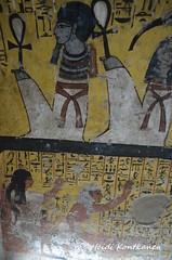 Deir el-Medina (konde) Tags: tt218 deirelmedina tt219 newkingdom tt220 19thdynasty tomb hieroglyphs ankh ancientegypt luxor thebes art deities