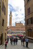 First Glimpse of the Piazza Del Campo (dcnelson1898) Tags: siena tuscany italy town walls ancient tourist vacation travel