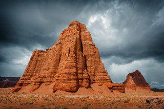 Cathedral Valley, Temple of the Moon, Utah
