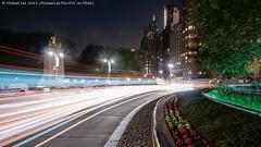 Columbus Circle (20180601-DSC07671-Edit) (Michael.Lee.Pics.NYC) Tags: newyork columbuscircle centralpark merchantsgate mainemonument centralparksouth traffic lighttrail longexposure traffictrail architecture cityscape sony a7rm2 zeissloxia21mmf28