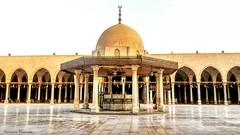 جامع عمرو بن العاص .. Amru Ibnul-Aas Mosque (Ameera Mostafa) Tags: egypt mosque old ancient islamic islam eyecandy photography photo moment moments cairo arabic arab architecture mobilephotography mobile