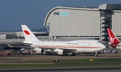 Bahrain Boeing (Treflyn) Tags: vip boeing 747400 744 747 kingdom bahrain lhr london heathrow airport a9chak