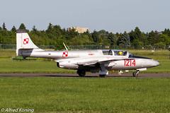 TS-11 Iskra, 1214/SP-YBC, Polen (Alfred Koning) Tags: 1214spybc eppopoznańlawica locatie polen poznańairshow ts11iskra ts11bisdf vliegtuigen