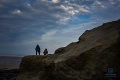 star wars figures (kapper22) Tags: star wars beach sunrise saunton sands early morning sky toys depth field outdoor fun clouds blue rock cliff edge