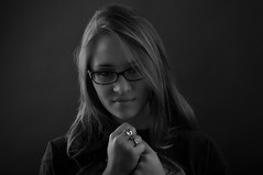Alexandra (kin182photo) Tags: portrait portraiture porträt retrato noiretblanc blackandwhite bw nb ombres lumières shadow light clairobscur jeune femme modèle french model française russe russian beautiful face visage belle joli jolie girl fille pretty cute magnifique superbe