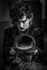 Emmy (MX Man) Tags: male model goth horror one strobe pony good d 360 aston birmingham england thomas street fuji x t 2