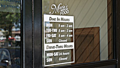 Open Late Maria's Mexican Food in Valley Junction West Des Moines, Iowa (Tyrgyzistan) Tags: valleyjunction westdesmoines suburbandesmoines centraliowa polkcounty mexicanfood comidamexicana taqueria