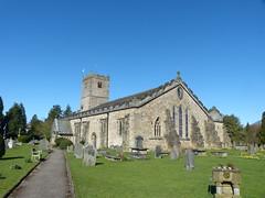 Church - St Mary, Kirkby Lonsdale 180405 (maljoe) Tags: church churches stmarys kirkbylonsdale stmaryskirkbylonsdale stmaryschurchkirkbylonsdale stainedglass stainedglasswindow stainedglasswindows