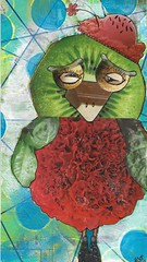 Mailart2018-4 (FarStarr) Tags: mailart mailart365 mandyfariello mail mixedmedia postcard postal collage cerealbox iuoma swapbot supermailartists snailmail bird painted