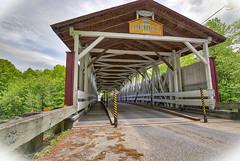 Powerscourt (Kevin Tataryn) Tags: bridge covered quebec canada historic history 1861 hdr aurora nikon d500 tokina 1116