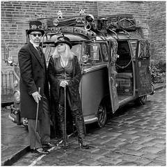 STEAMPUNK TRAVELLERS (Kerry711) Tags: 1650mm a77 alpha costume england event harworth kit lens sony steampunk van volkswagen vw