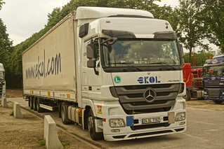 Mercedes-Benz Actros MP3 E5 1841 Megaspace - Ekol Logistics 4.0 Istanbul, Turkey