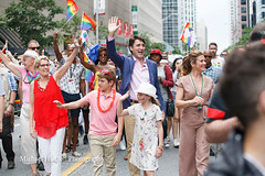 Toronto Pride Parade 2017 (M Hudson) Tags: lgbtq2 sophie wynne bloor celebration crowds festival justin minister parade premier pride prime street toronto trudeau on canada can