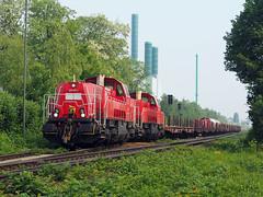 DBC 265 027 (jvr440) Tags: trein train spoorwegen railroad railways duisburg wanheim db deutsche bahn cargo voith gravita br265