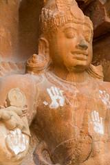 Hands (davidthegray) Tags: sculpture chola kumkum tamilnadu southindia shiva india statue unesco brihadisvara thanjavur god temple hindu rajarajesvaram southernindia tanjavur tanjor tanjore दक्षिणभारत भारत தமிழ்நாடு தென்இந்தியா ದಕ್ಷಿಣಭಾರತ in