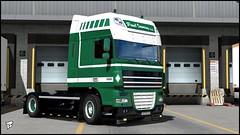"DAF XF 105 ""Paul Imming c.v."" (Bepreeh) Tags: ets ets2 euro truck simulator 2 daf xf paul imming"