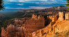 Good Morning Bryce Canyon - Explore (Ron Drew) Tags: nikon d800 utah brycecanyonnationalpark nationalpark summer dawn morning canyon hoodoo clouds sunrise photographers trees outdoors landscape usa redrock rim cliff sky
