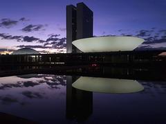 Fotos produzidas pelo Senado (Senado Federal) Tags: institucional congressonacional fachada prédio amanhecer alvorada aurora nascerdosol crepúsculo céu manhã raiar brasília df brasil bra