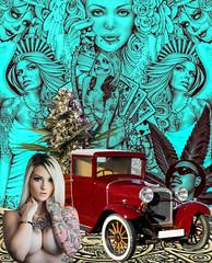 #Azteca #Art #Chola #Gangster #Charra #Payaso #Graffiti #Tattoo (rod420oficial) Tags: art tattoo azteca chola gangster graffiti charra payaso