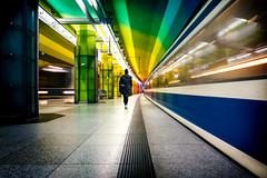 Munich, Germany (frank_hb) Tags: street streetphotography silhouette schwarz shadow schatten mensch munich münchen metro human humaninarchitecture