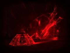 Fancy bowl [Explore] (LivingStone Images) Tags: 08jun18 2018 365the2018edition 3652018 colourefexpro day159365 laser nikcollection red refraction