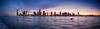 Panorama of Jersey City from the Hudson River (Classicpixel (Eric Galton) Photography Portfolio) Tags: paysage landscape newyork sun soleil olympus omdem10mkii sunset coucherdesoleil dusk manhattan hudson river rivière sky ciel nuages clouds ericgalton classicpixel skyline sea city water skyscraper building boat ocean