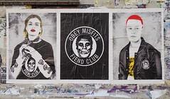 - (txmx 2) Tags: hamburg streetart obey misfits fiendclub poster