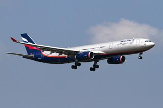 VQ-BQX, Airbus A330-343X, Aeroflot