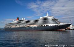 Queen Elizabeth (36) (Christoffer Andersen) Tags: cunard queenelizabeth carnivalgroup portofoslo oslo oslofjorden cruiseship cruise luxuryliner passengership shipspotting