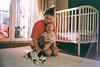 Favourite girls (trom.pom) Tags: girlgaze femalegaze 35mm analog filmphotography contaxt2 fujifilmindustrial family motherhood motherandchild nursery ukraine kyiv home light baby
