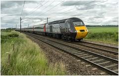 43301. On hire ........... (Alan Burkwood) Tags: ecml eatonlane retford vtec crosscountryhst 43301 1e04 edinburghlondonkingscross diesel locomotive passenger train