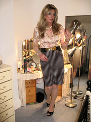 Being Girlie... (Julie Bracken) Tags: satin kelayla transvista cd tgurl feminized xdresser mature old tv portrait hair red fashion transvestite mini skirt transgender m2f mtf transsisters enfemme ginger redhead party tranny trannie heels nylon julieb85 crossdressing crossdresser tgirl feminised 2018 kinky pantyhose crossdress polyamorous lgbt kelayla03