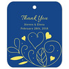 Country Summer Blue Thank You Favor Tag (Set of 25 pcs) (Gift Elements) Tags: gifttags wedding stickers weddingtags weddinggifttags weddingstickers thankyou country summer blue giftwrapping favour favor favortag weddingparty creative customise customize personalise giftelements