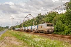 27 mai 2018 BB 7358 Train 489151 Bordeaux-Hourcade -> Hendaye Cestas (33) (Anthony Q) Tags: 27 mai 2018 bb7358 train 489151 bordeauxhourcade hendaye cestas 33 bb7200 nouvelleaquitaine france ferroviaire fret sncf bordeaux