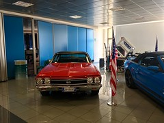 Chevrolet Chevelle SS 396 V8 (mangopulp2008) Tags: chevrolet chevelle 396 v8 milan italy ss