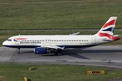 British Airways Airbus 320-232 G-EUYD (c/n 3726) (Manfred Saitz) Tags: vienna airport schwechat vie loww flughafen wien british airways airbus 320 a320 geuyd greg