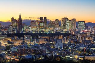 Shinjuku Sunset 9078
