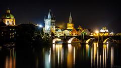 Karlsbrücke/Prag (f.s.salz) Tags: langzeitbelichtung prag tschechien karlsbrücke frank tschechei