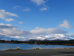 Lake Tekapo | South Island (CR1 Ford LTD) Tags: newzealand newzealandscenery southislandnewzealand southisland lake laketekapo tekapo lakes sky clouds water beautiful scenicnewzealand